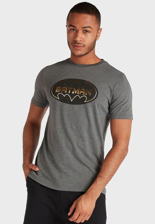 Batman Logo  Crew Neck T-Shirt