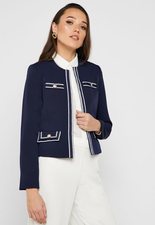 Contrast Detail Jacket