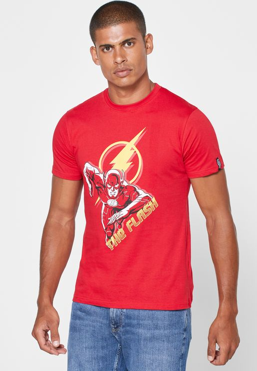 The Flash Crew Neck T Shirt