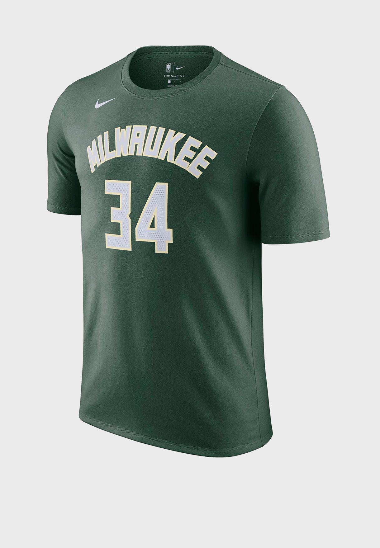 Giannis Antetokounmpo Milwaukee Bucks T-Shirt