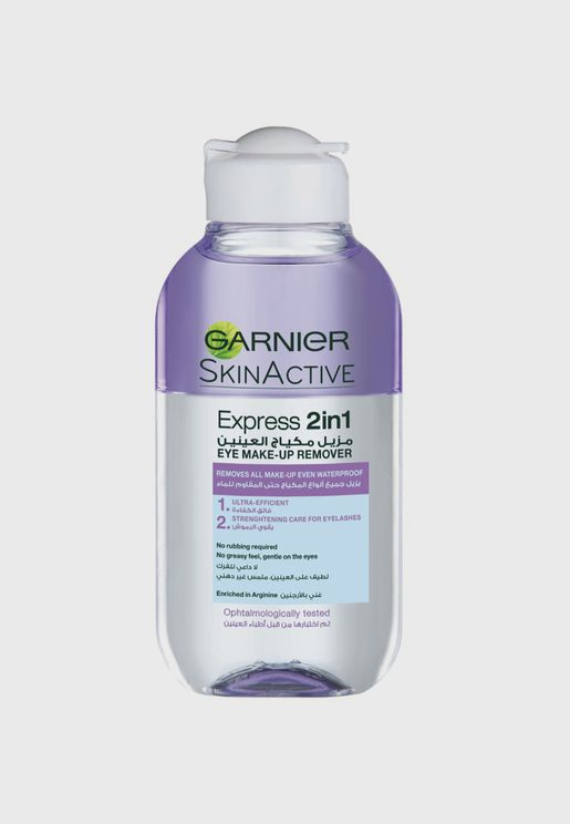 Skin Active 2In1 Eye-Makeup Remover