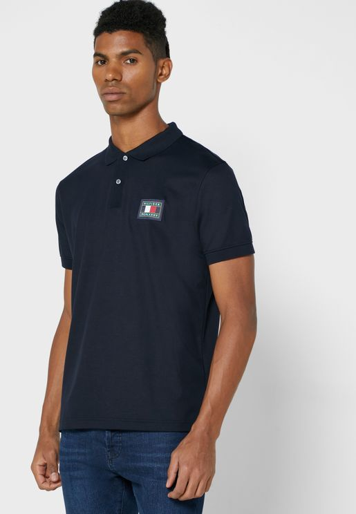 Chest Logo Regular Fit Polo