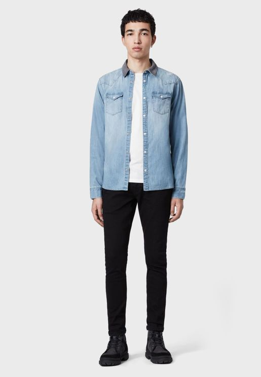 Dearne Relaxed Denim Shirt