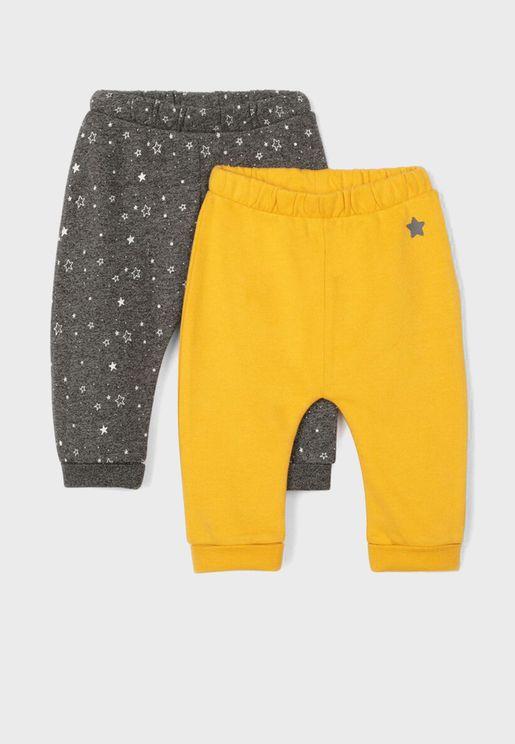 Infant 2 Pack Assorted Sweatpants