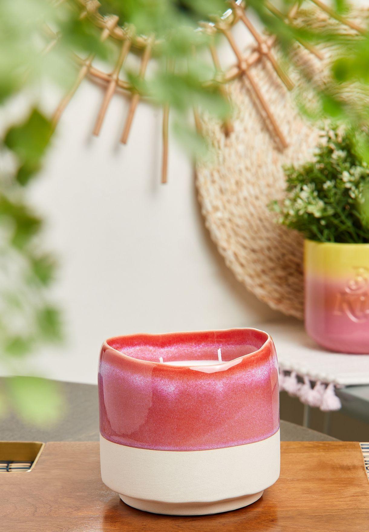 Vanilla Macaron & Berry Serenity Candle