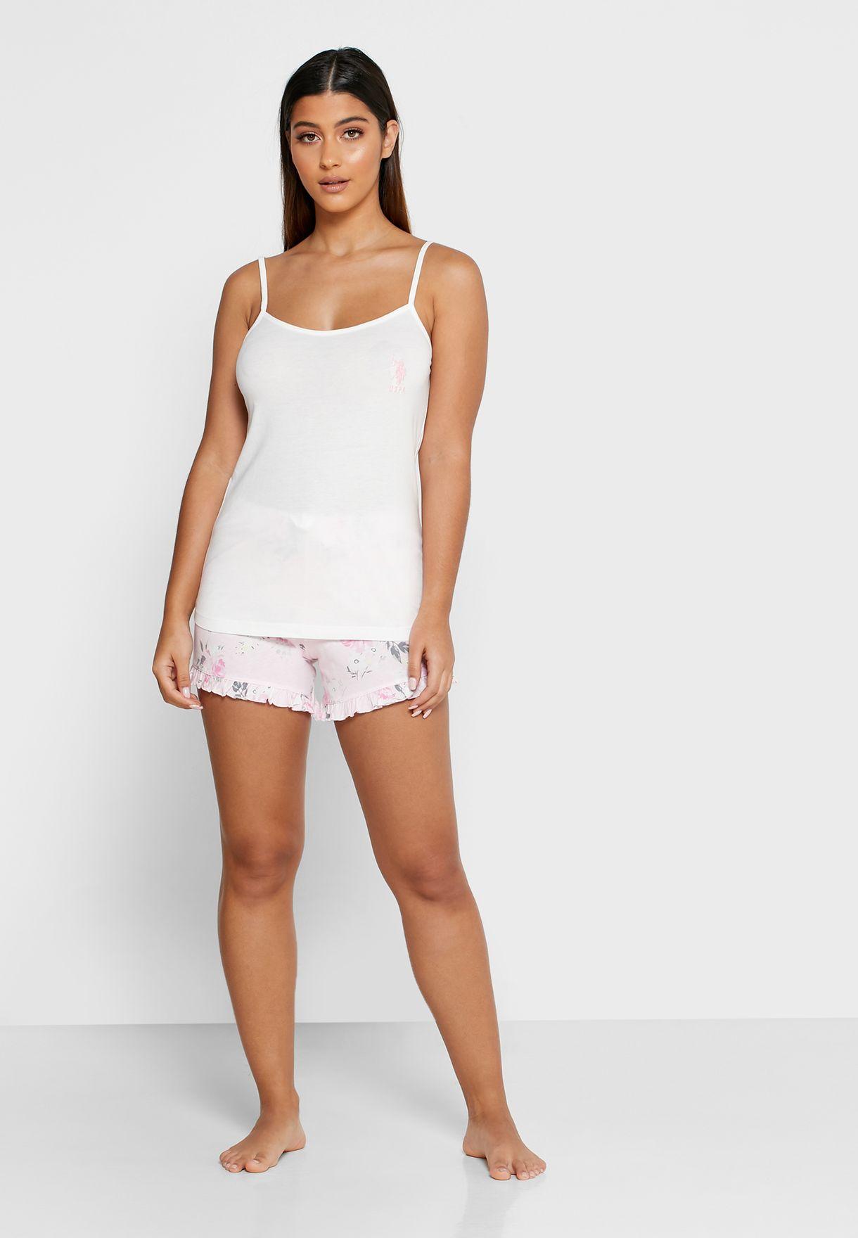 Cami Tank Top & Shorts Set