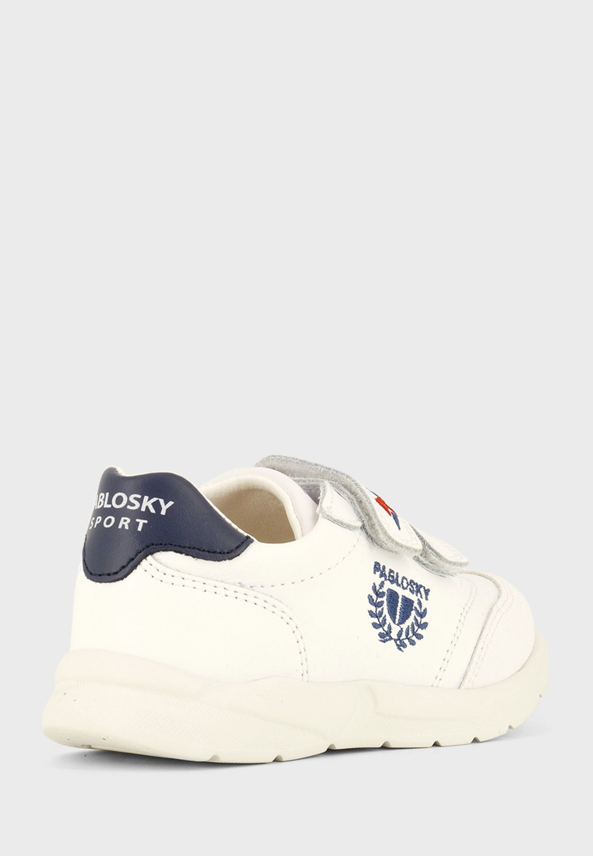 Junior Double Strap Velcro Sneaker