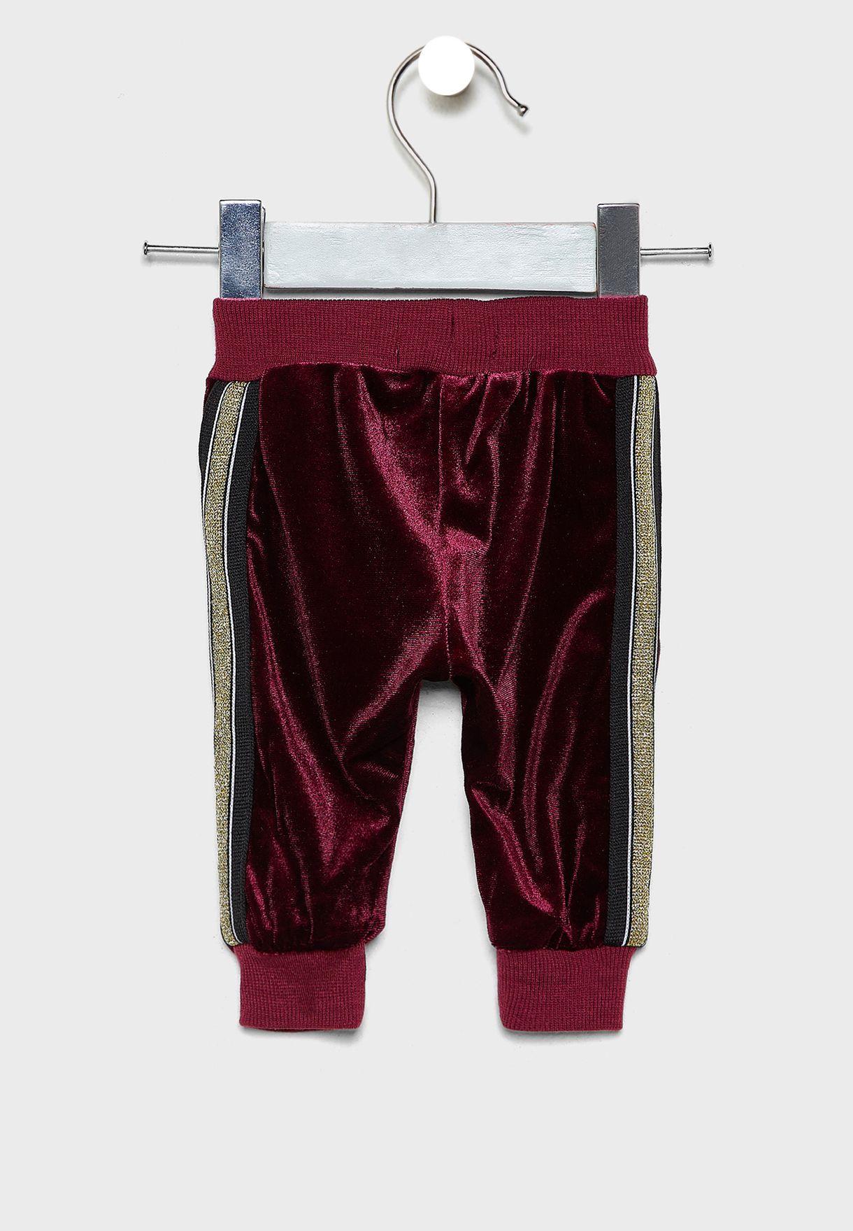 Infant Velvet Sweatpants