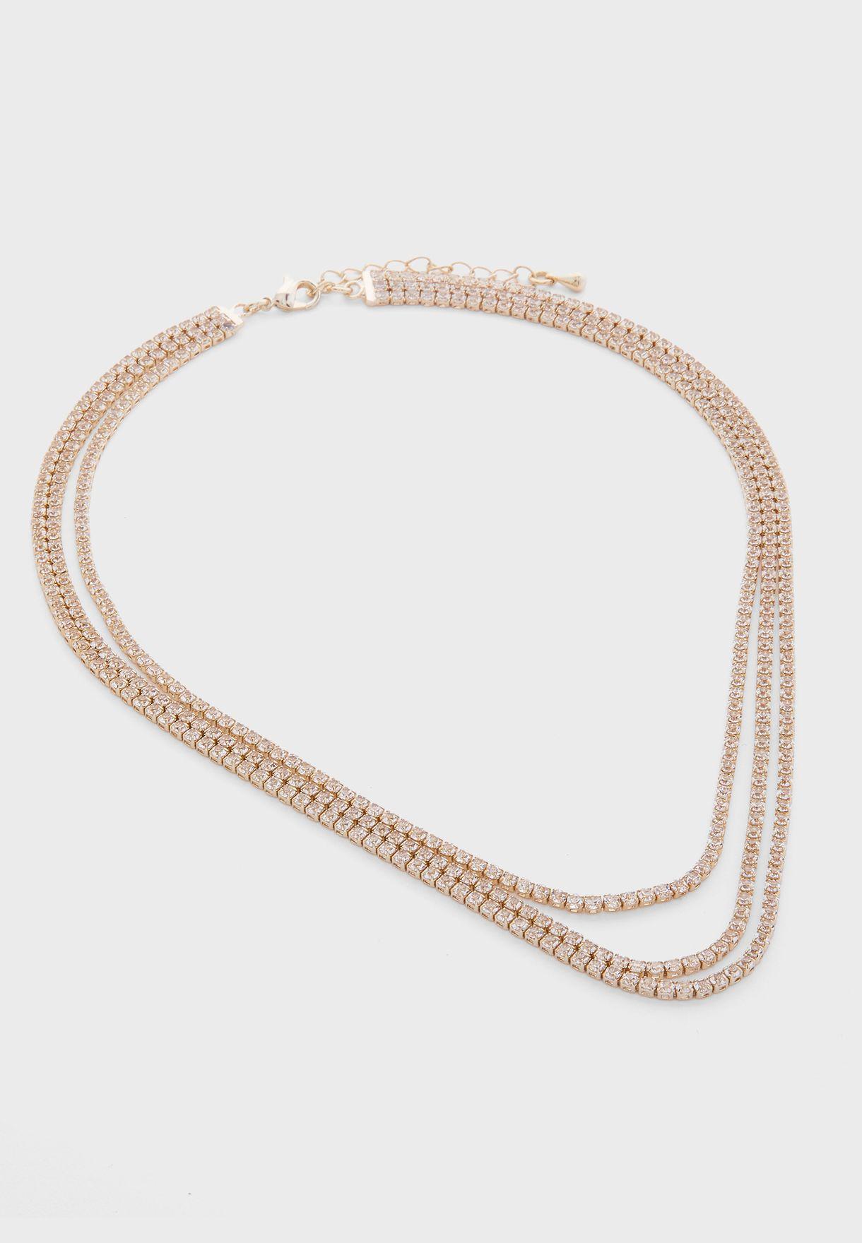 Cascade Necklace+Earrings+Bracelet