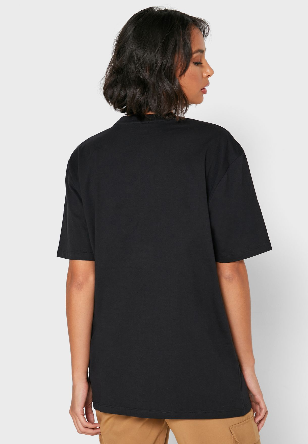 Oversized Graphic Back T-Shirt