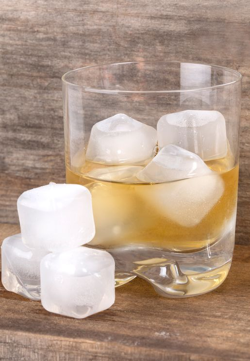 Clear Reusable Ice Cubes