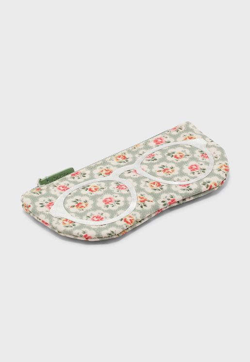 Printed Soft Zip Detail Purse