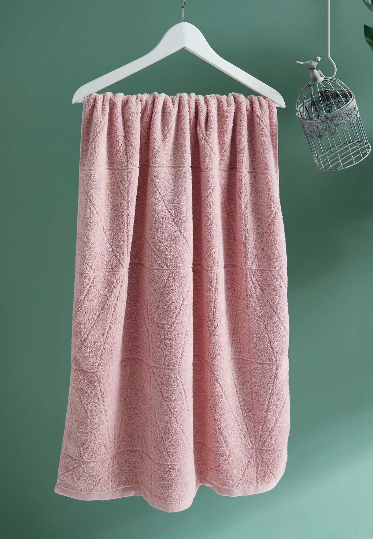 Pink Bath Towel