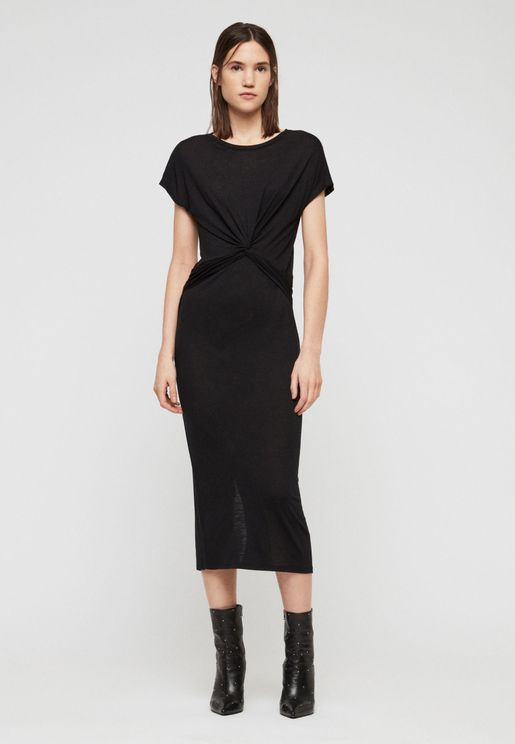 Paloma Front Twisted Bodycon Dress