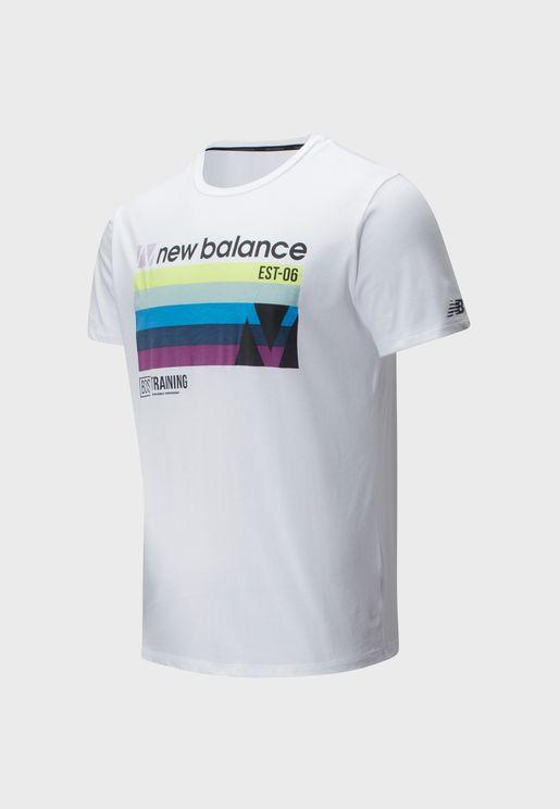 Graphic Heathertech T-Shirt