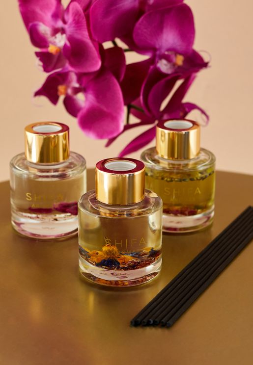 3 Pack Rose, Pilgrim & Summer Dream Mini Diffuser