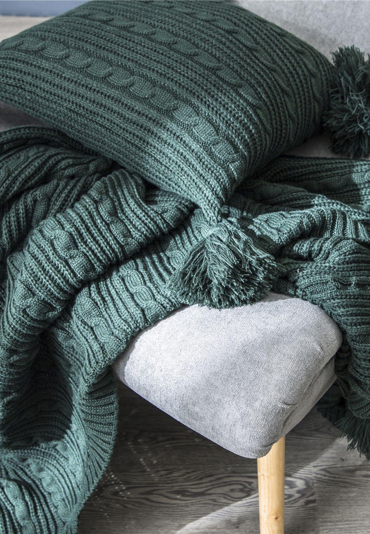 بطانية بكرات بوم بوم 130 x 160 سم