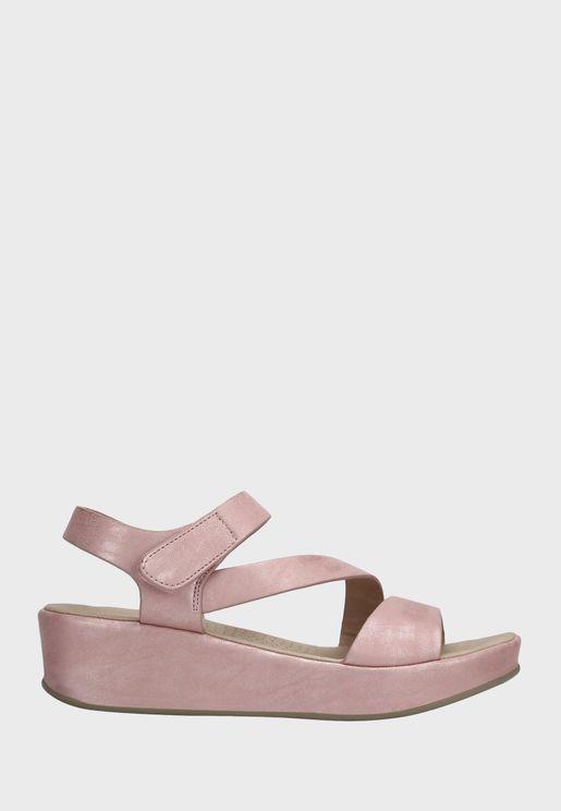 Velcro Wedge Sandal