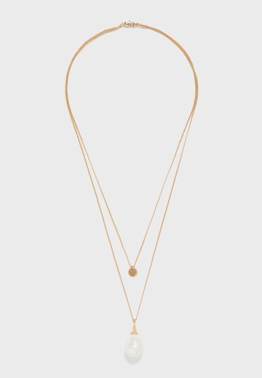 Illy Combi Layered Necklace