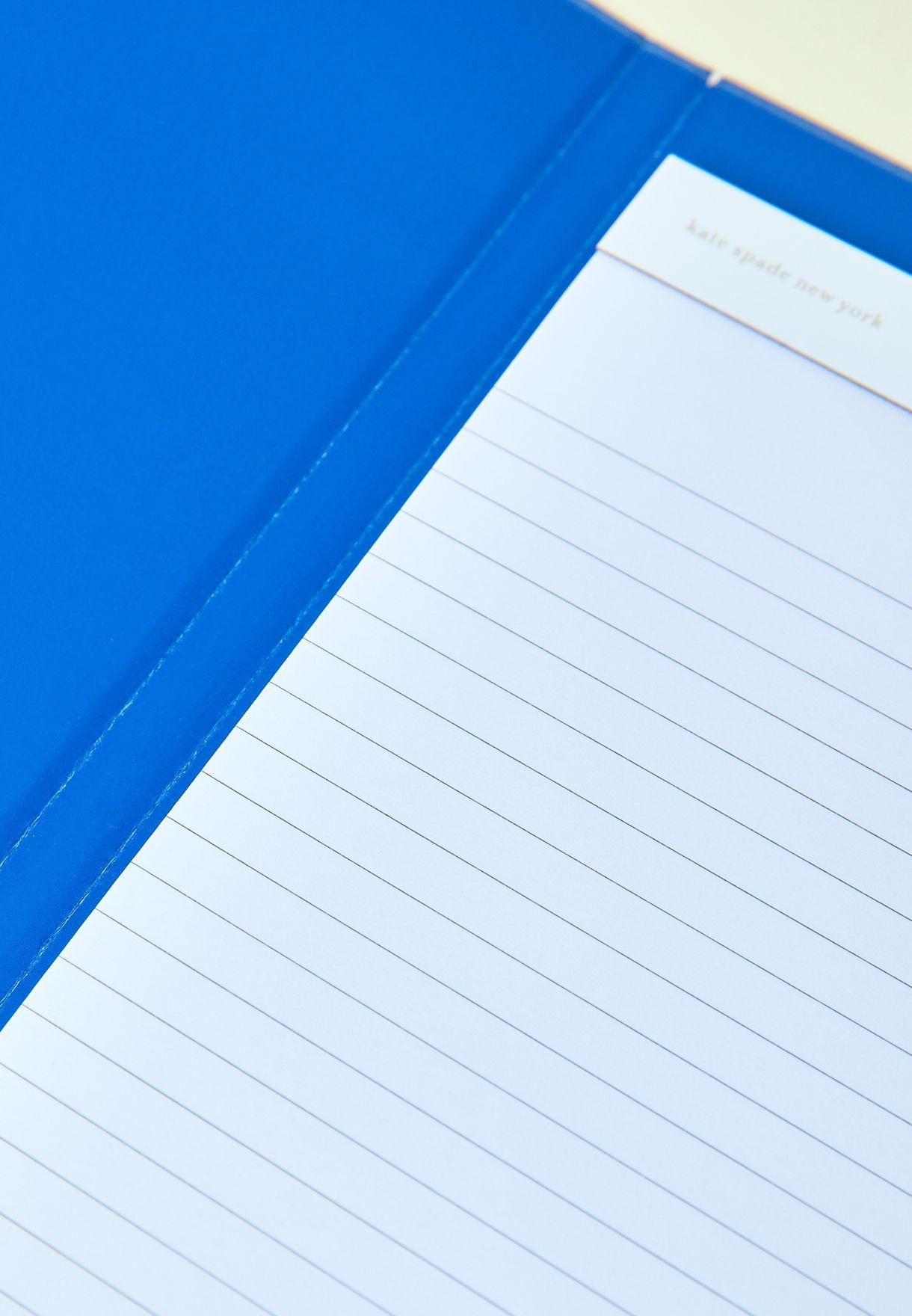 حافظة ورق مع مشبك