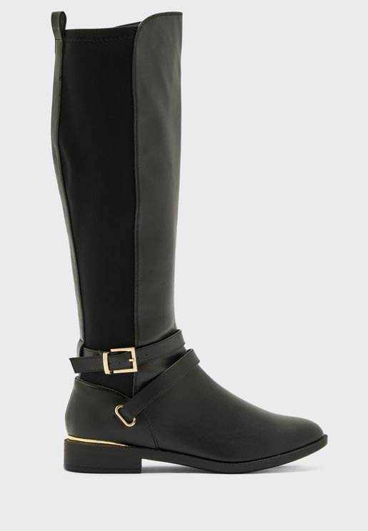 Keeper Cross Strap Riding Boot