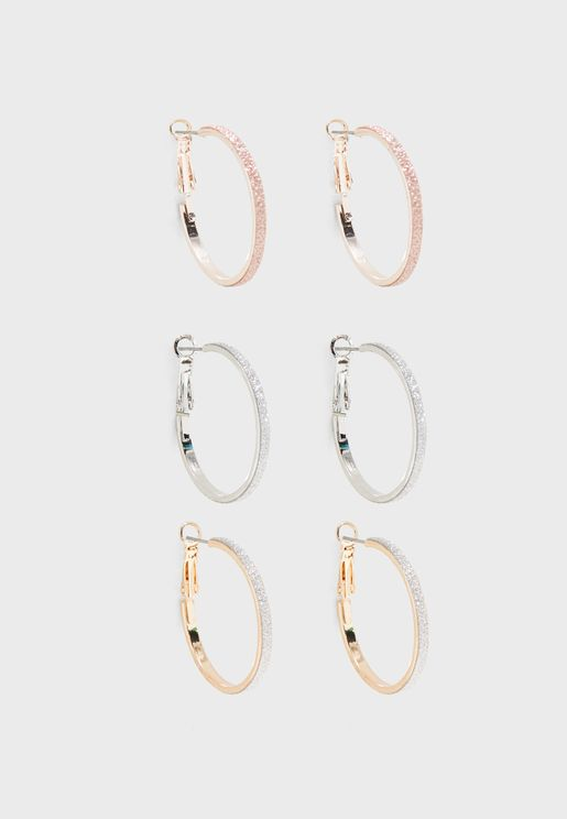 Acirella Earrings Set