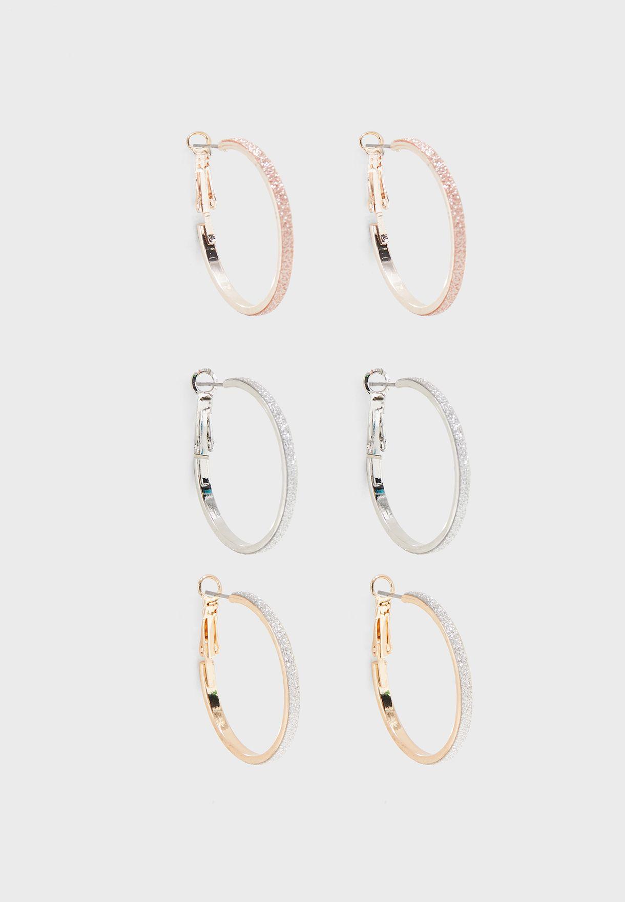 Acirella Earrings Set