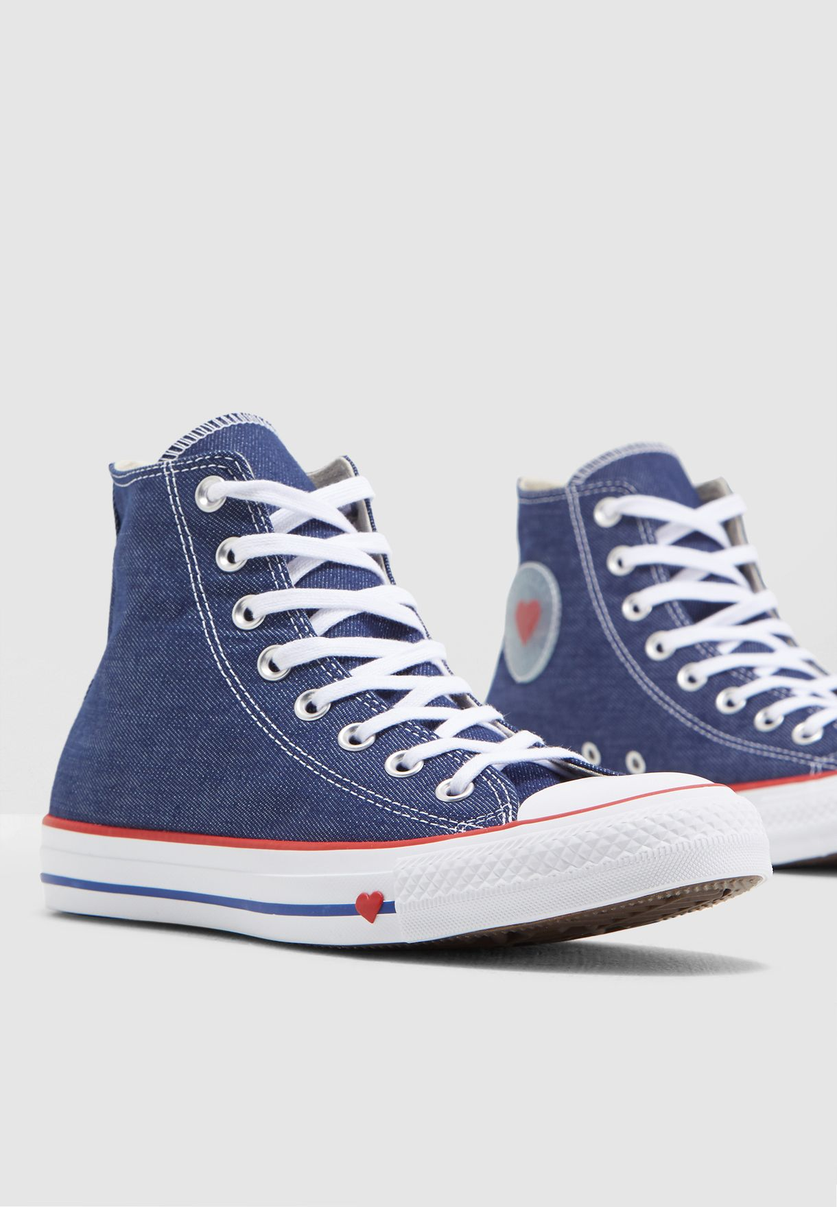 107afbb2d594e Shop Converse blue Chuck Taylor All Star 163303C-406 for Women in ...