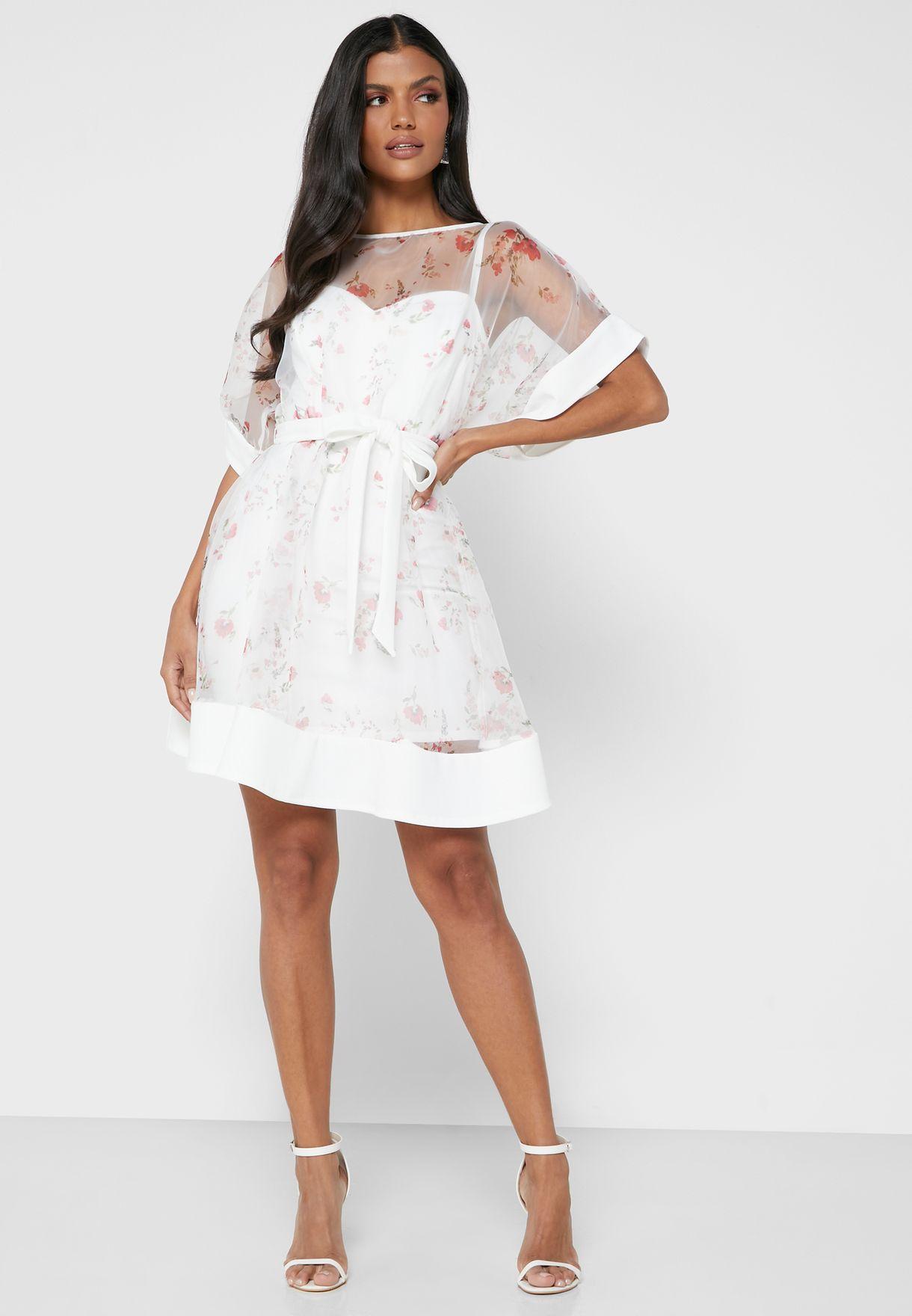 فستان اورجانزا قصير