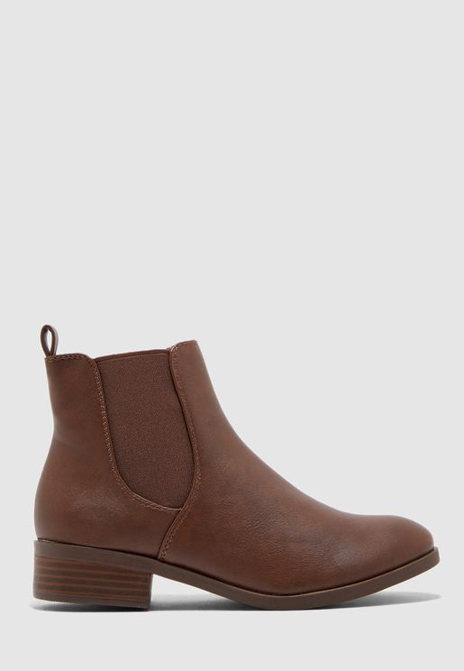 Wide Fit Morgan Chelsea Boot