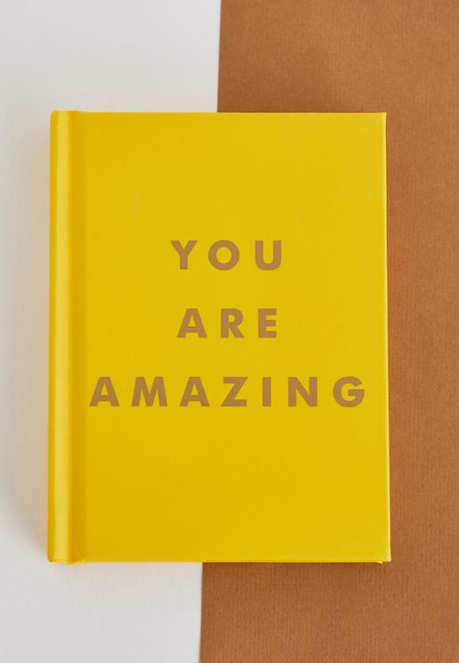 "كتاب You Are Amazing"" ( انت رائع)"