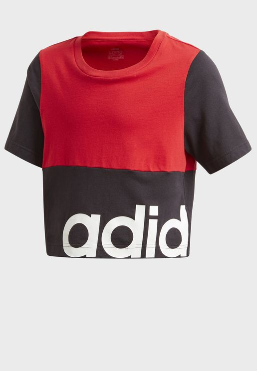 Youth Linear Colour Block T-Shirt