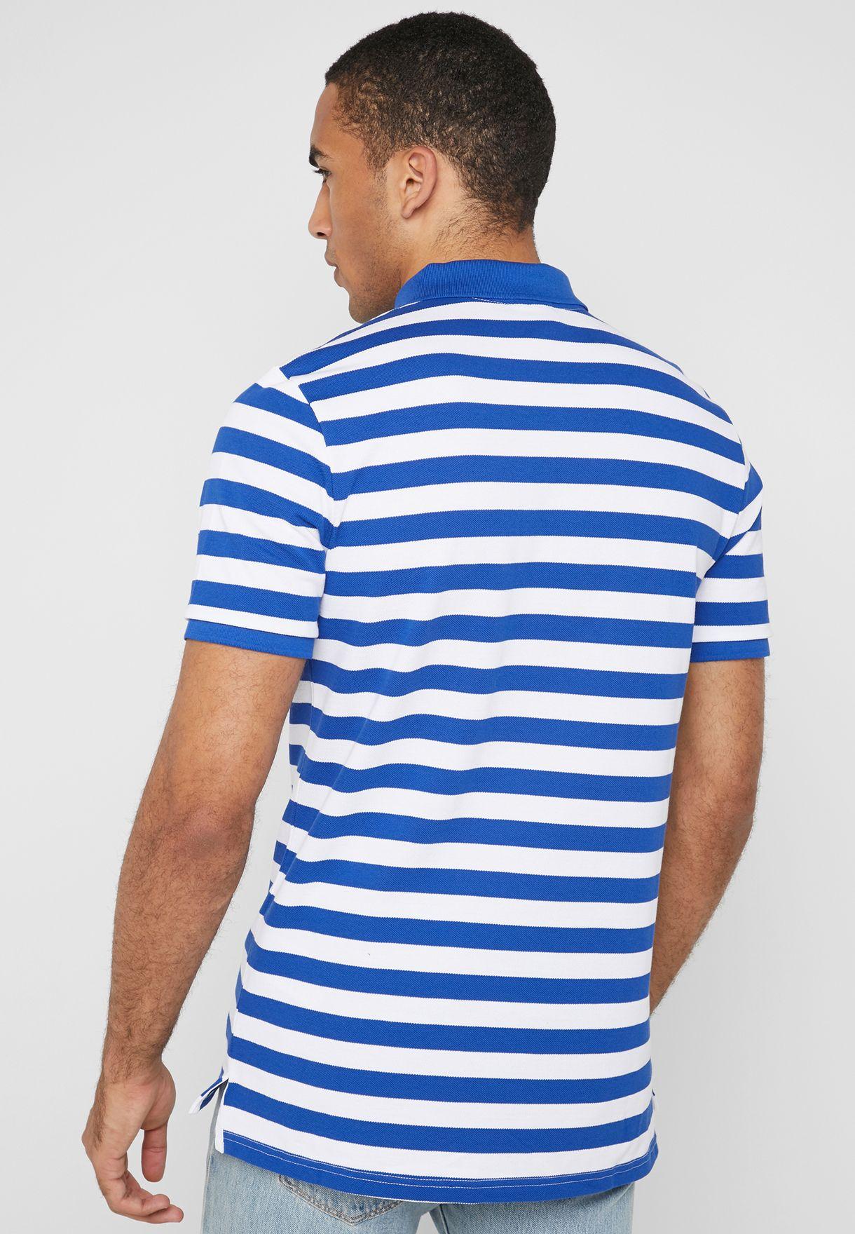 NSW Striped Polo