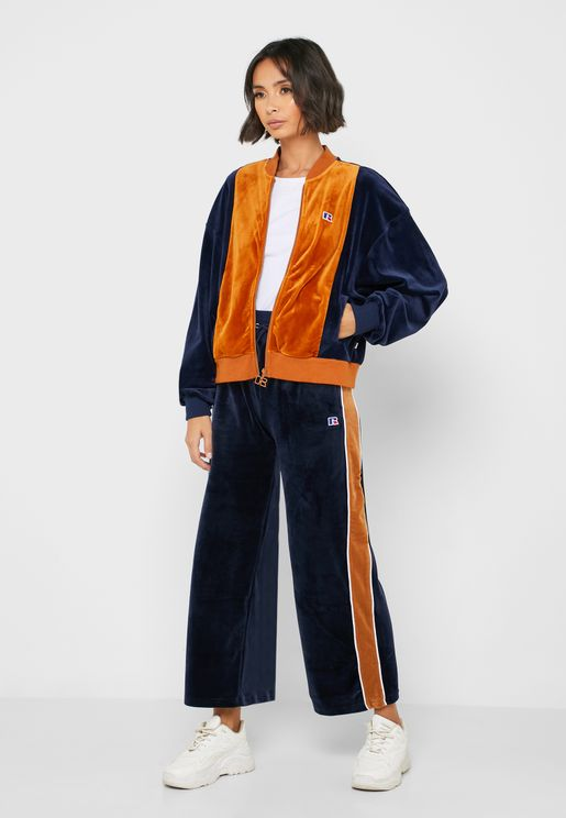 Naomi Velour Sweatpants