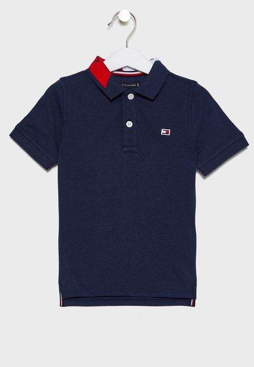 Kids Logo Polo T-Shirt