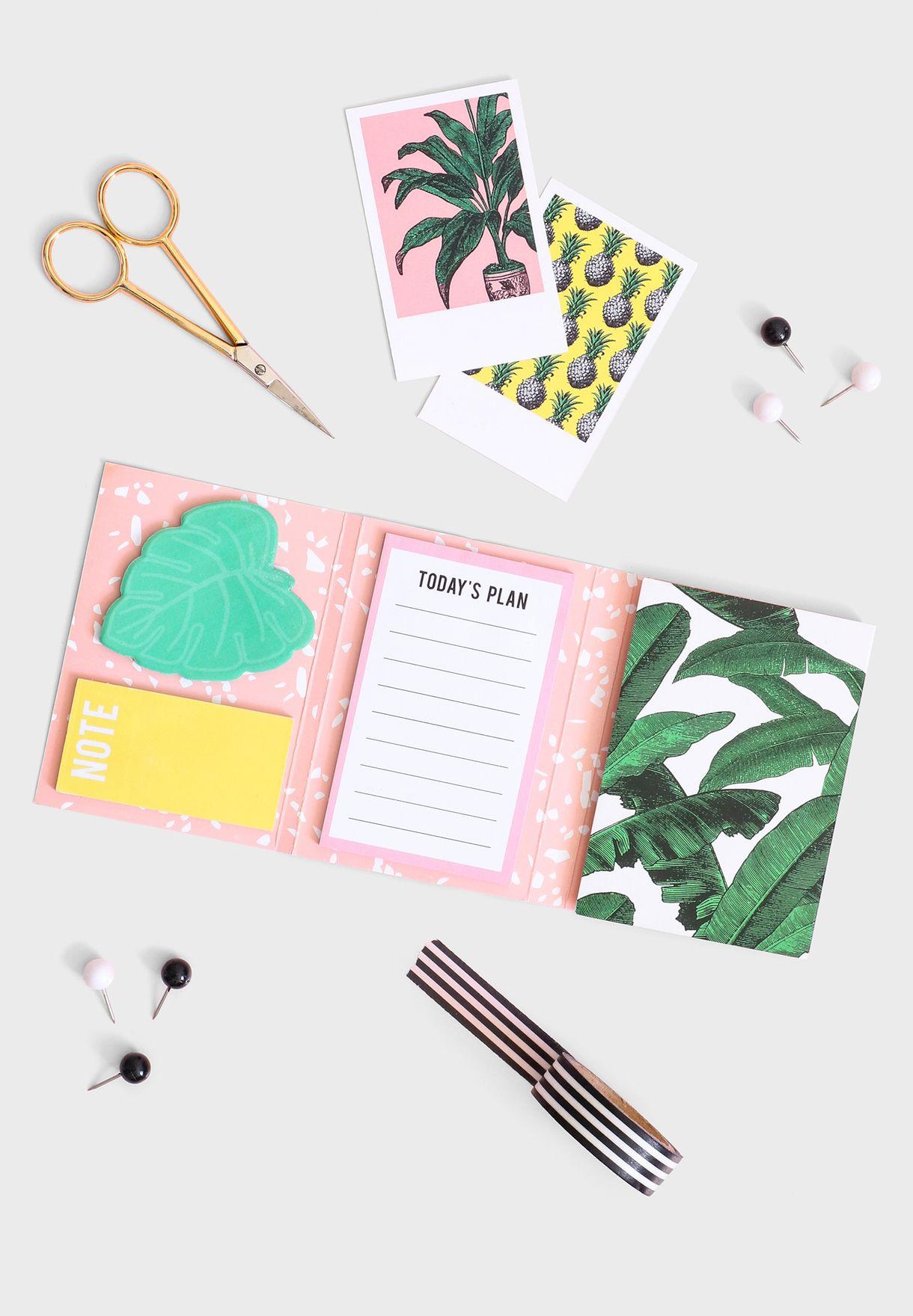 Botanical Sticky Note Set