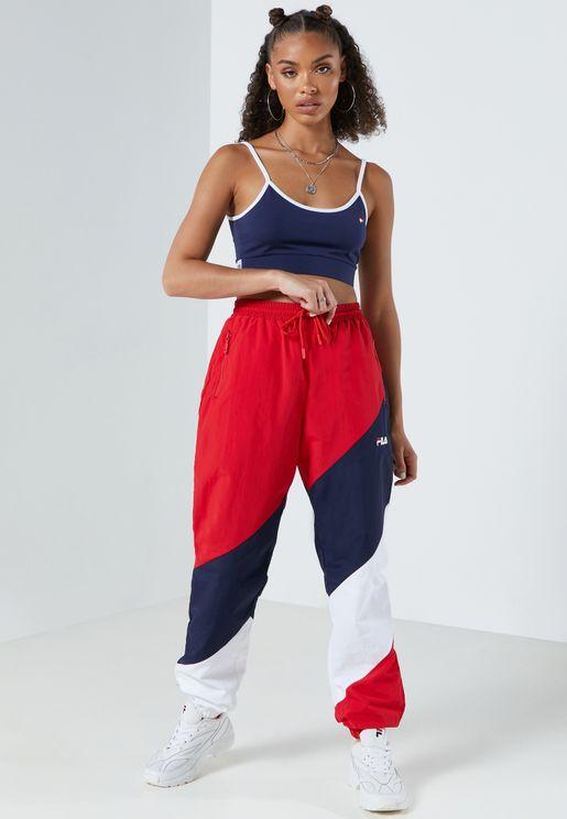 Daksha Colour Block Track Pants