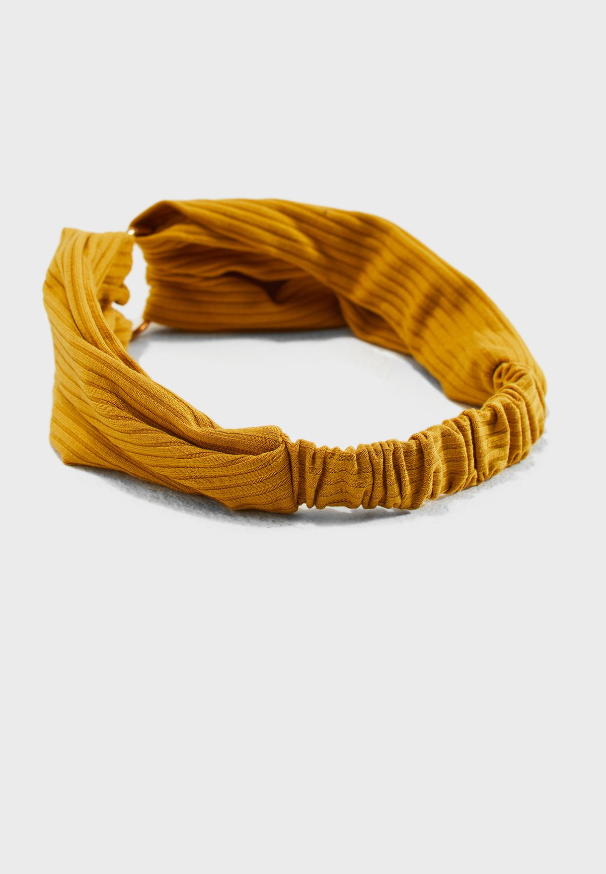 Open Ring Ribbed Headband
