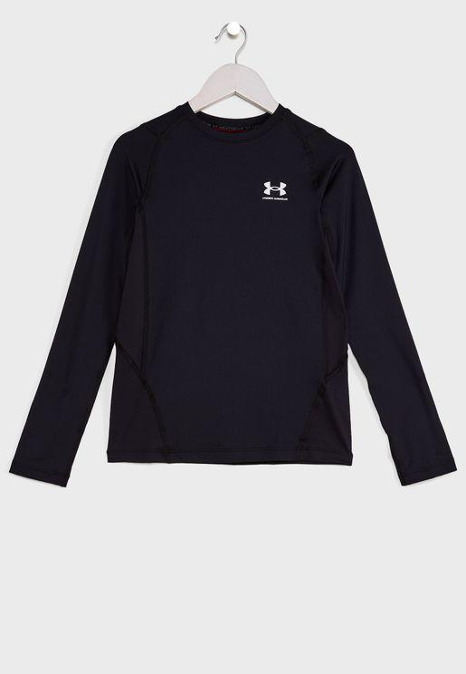 Youth Heatgear Armour T-Shirt