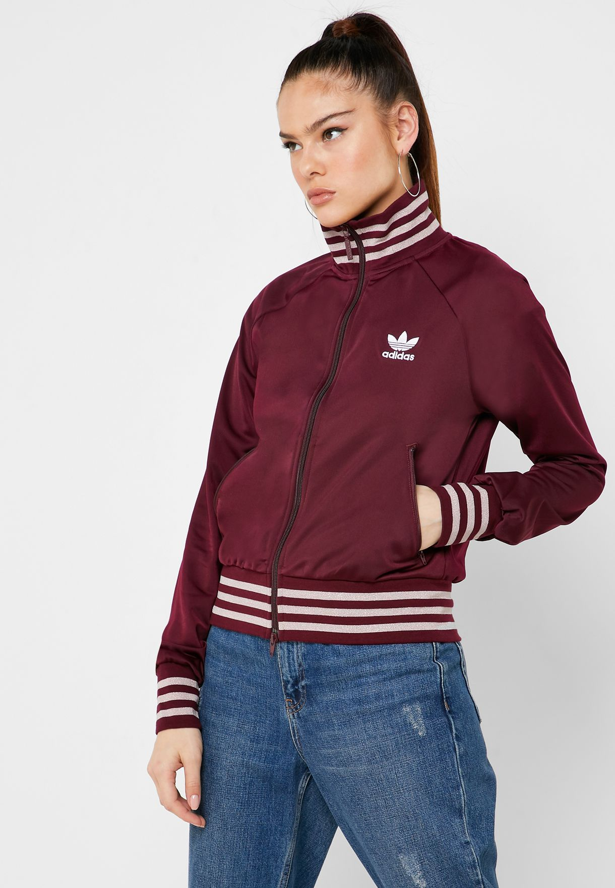 Simple Adidas Track Jacket Originals Black | Men Adidas