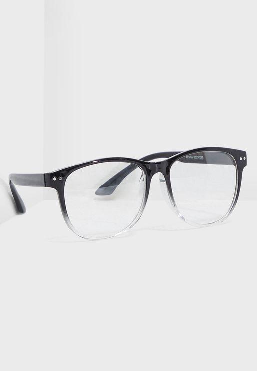 Ombre Frame Reader Sunglasses