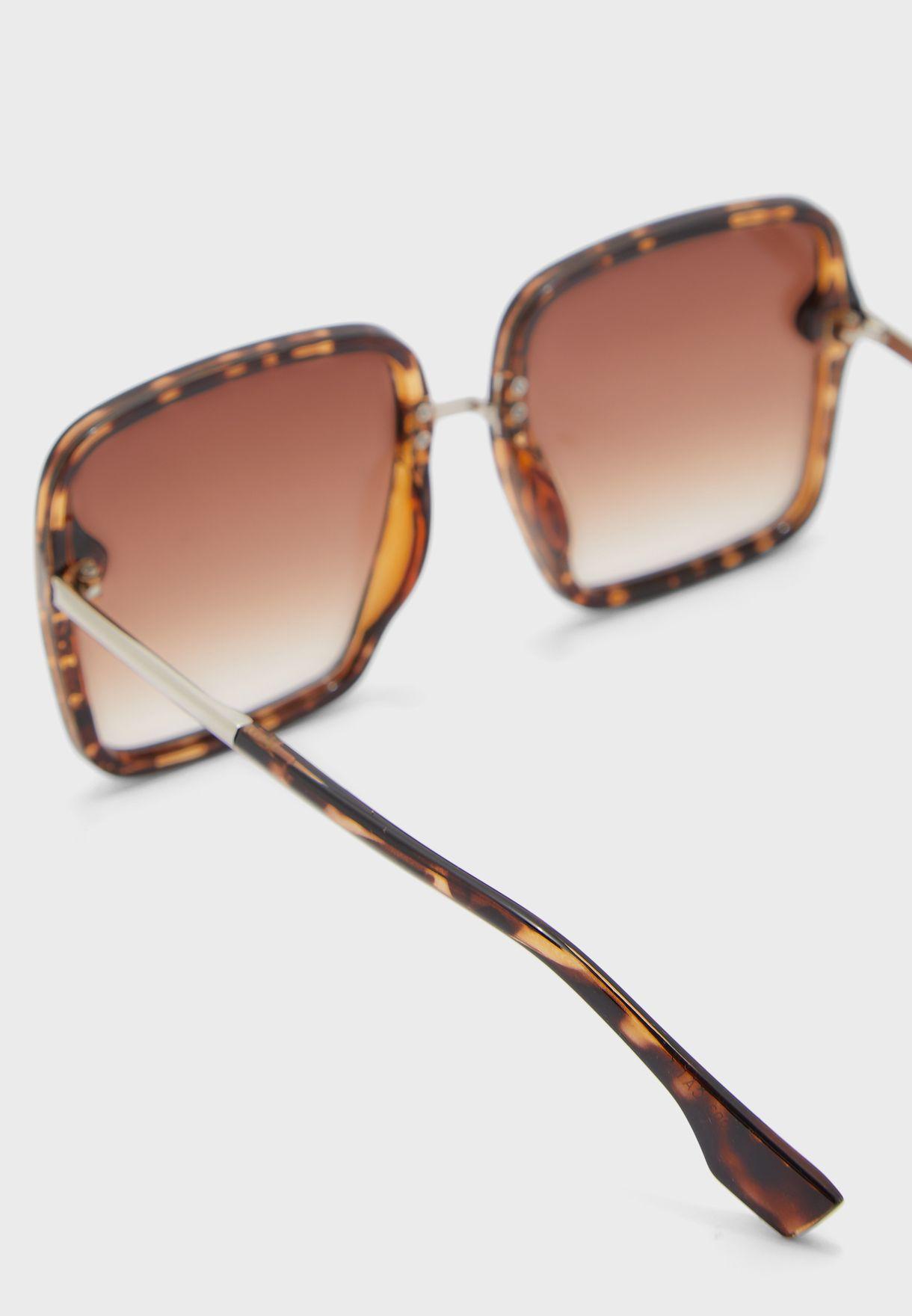 Tortoise Shell Oversized  Sunglasses