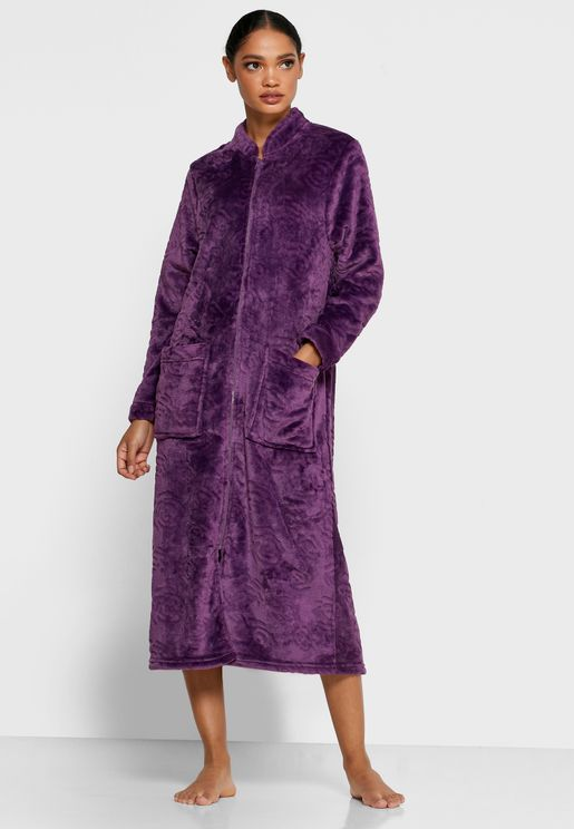 Shaggy Fleece Robe