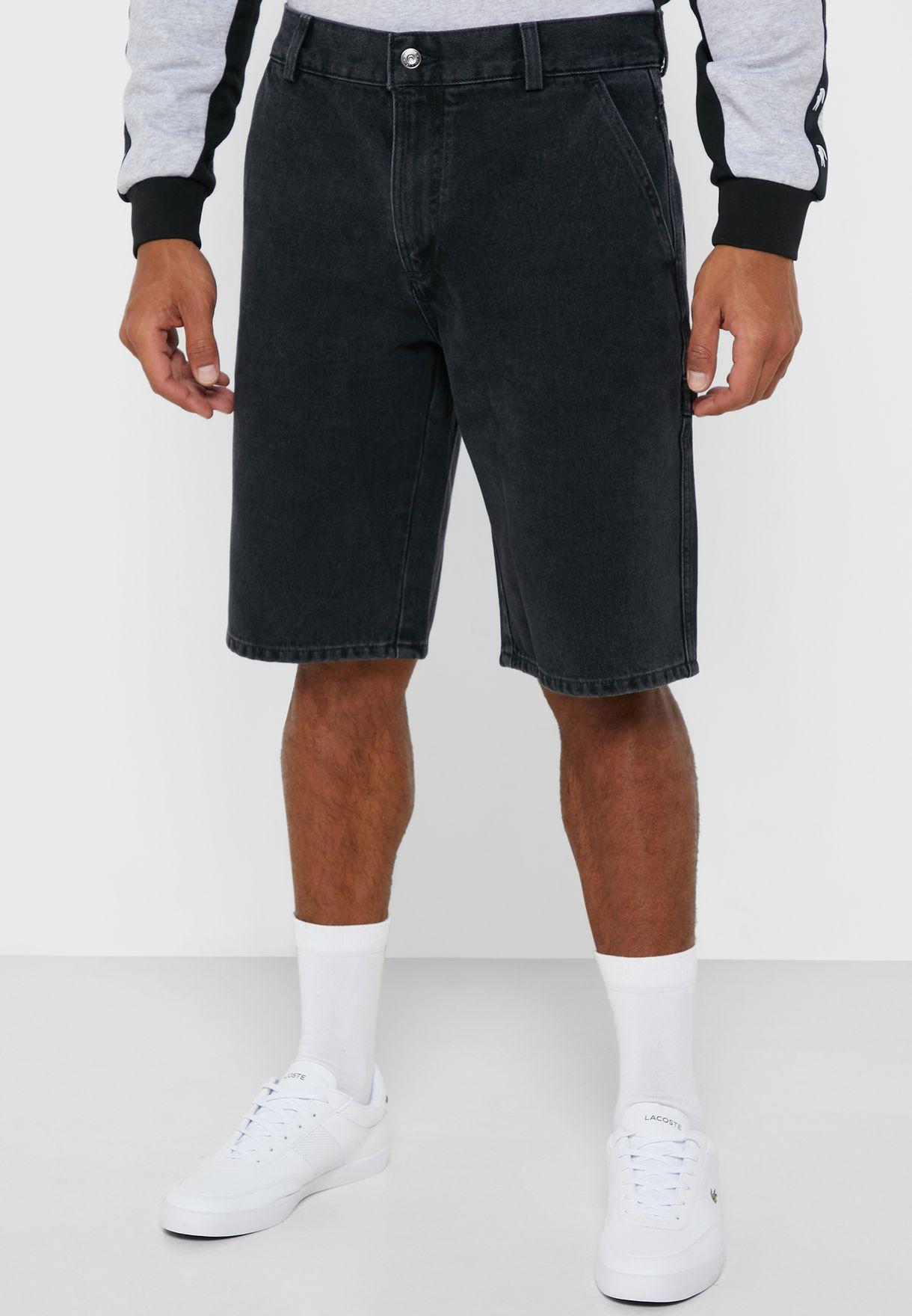Rinse Denim Shorts