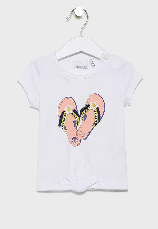 Kids Round Collar With Snap Top
