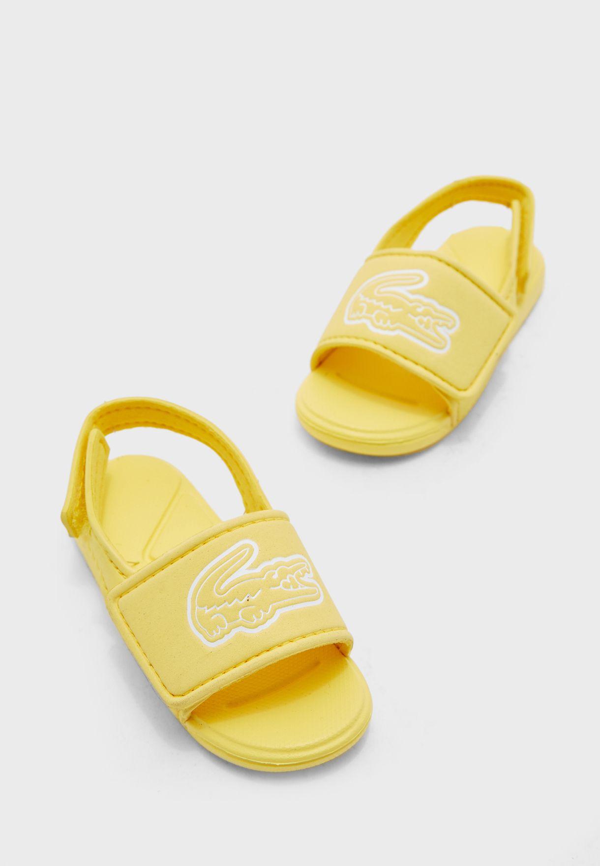 Lacoste Kids L.30 Strap 1201 Cui Slide Sandal