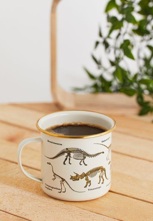 Ecologie - Dinosaurum Enamel Mug