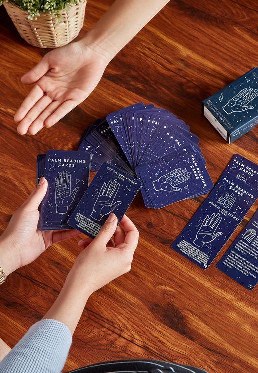 بطاقات قراءة طالع كف اليد