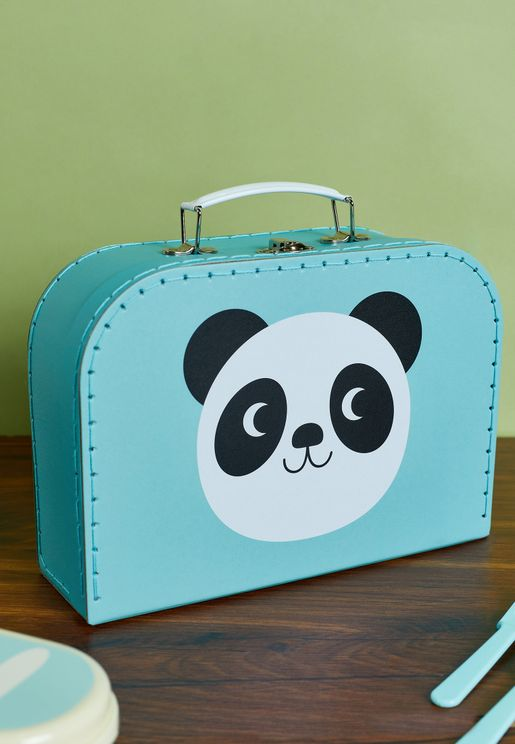 Set Of 3 Miko The Panda And Friends Storage Cases