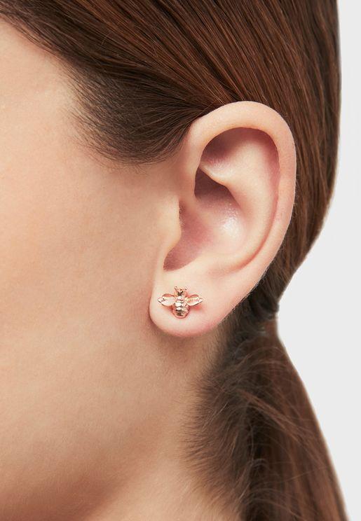 Beelii Double Bee Earrings